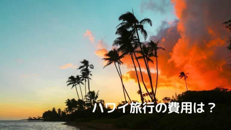ハワイ旅行 費用