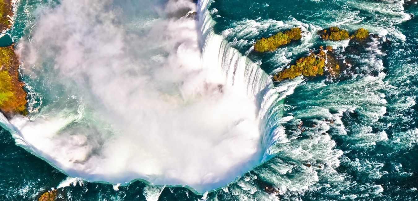 カナダ 滝 (1)